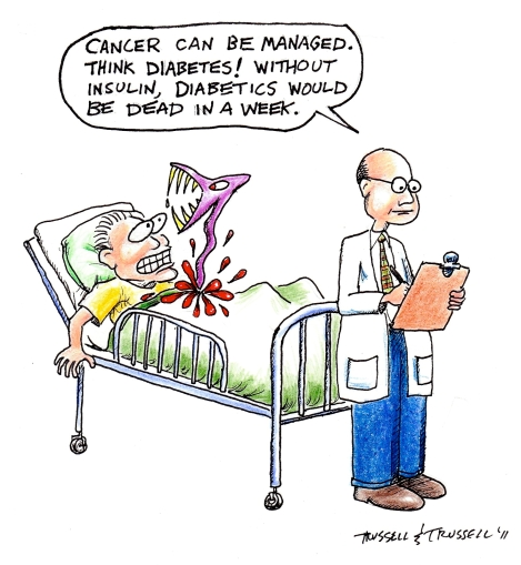 Image result for cancer cartoon